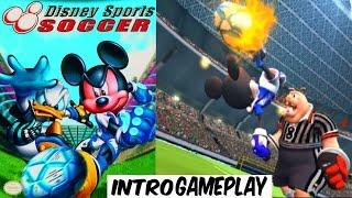 Disney Sports Soccer - INTRO & GAMEPLAY - GAMECUBE HD