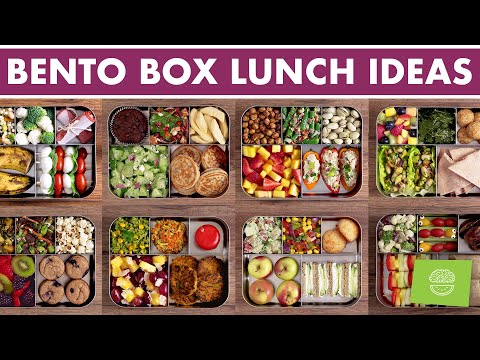 Bento Box Lunch Ideas - Compilation Video!