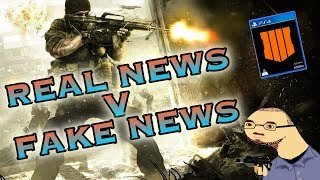 EVERYTHING WE KNOW ABOUT THE CALL OF DUTY: BLACK OPS 4 LEAKS! REAL NEWS V FAKE NEWS! REVEAL TOMORROW