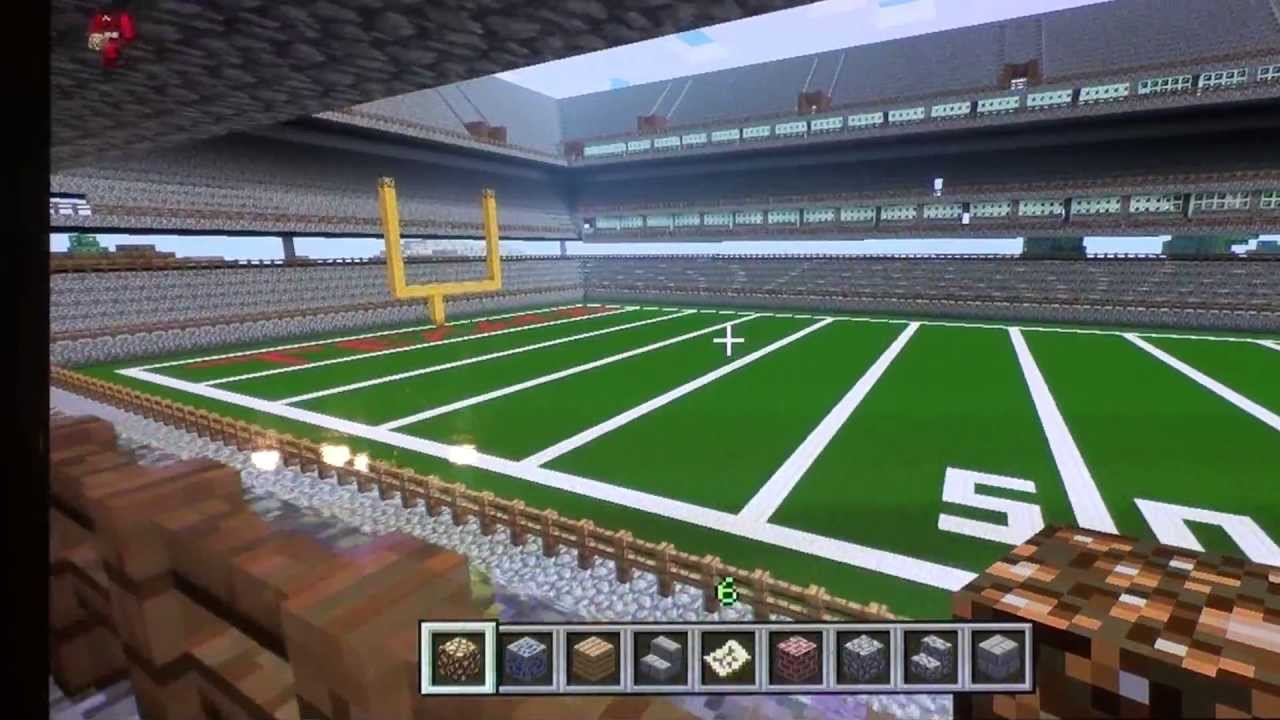 1cb4d8a9e38 Minecraft Xbox 360 - Hunger Games Reliant Stadium - YouTube