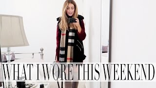 what i wore this weekend   lydia elise millen   vlogmas day eleven