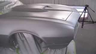 1968 Camaro Countdown to SEMA 2011 V8TV Video: Final Glasurit Paint, Laying Out Stripes!