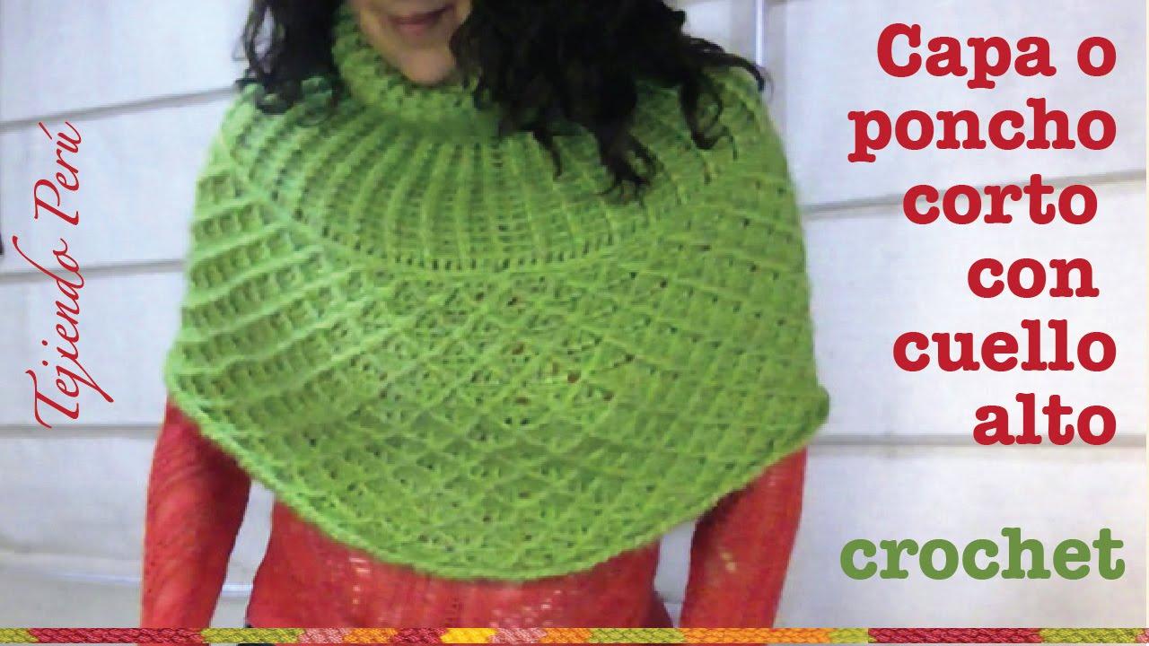Capa De Crochet Para Nina