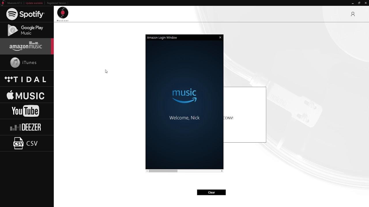 MusConv com - swap your music playlists between Spotify, Amazon Music,  Google Music, iTunes