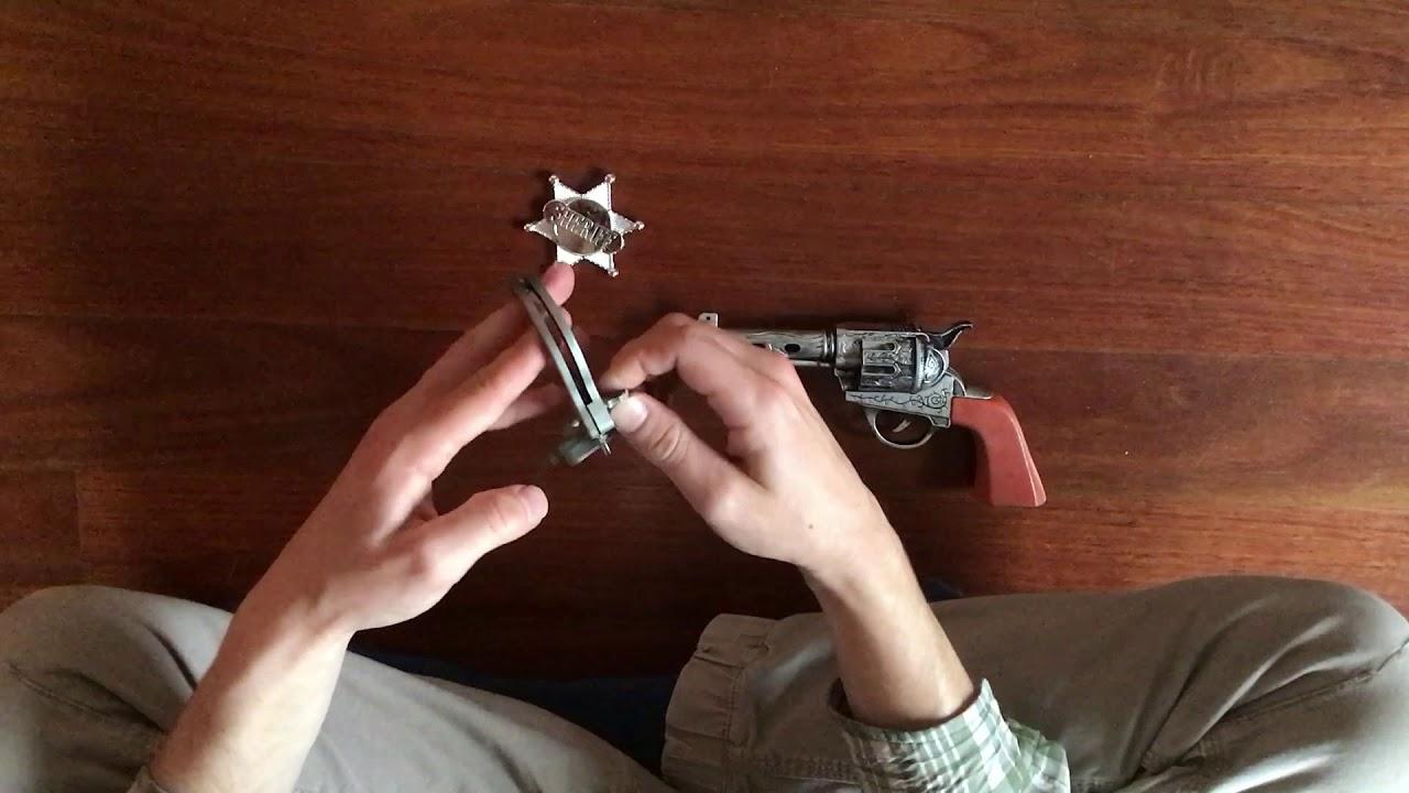 Toy Cowboy Wild West Gun Set