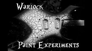 Warlock Crackle Paint Experiment w/ Spray Cans
