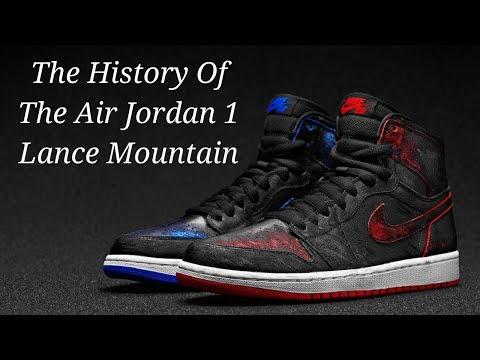 wholesale dealer bee79 b90ec The Sneaker Vault  1  The History of The Air Jordan 1 Lance Mountain