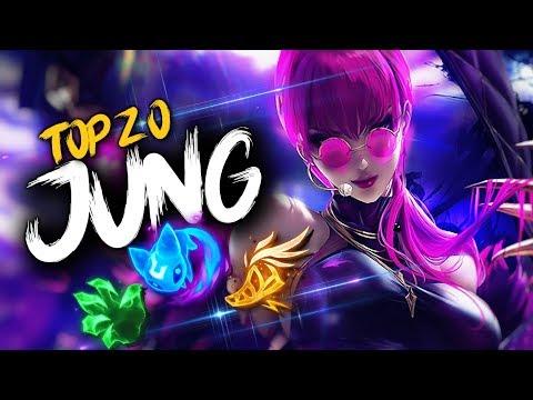 Top 20 JUNGLER Plays Episode #18   League of Legends thumbnail