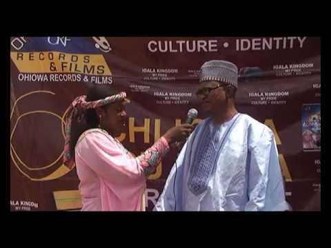 Ogun State red carpet Ichi Igala Odu Igala, unity and progress campaign/lectures king Tijay Bala Ini