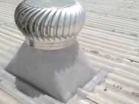 Wind Turbine Roof Vent Roof Power Vent Roof Exhaust