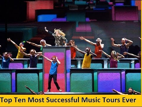 Top Ten Most Successful Music Tours Ever ||
