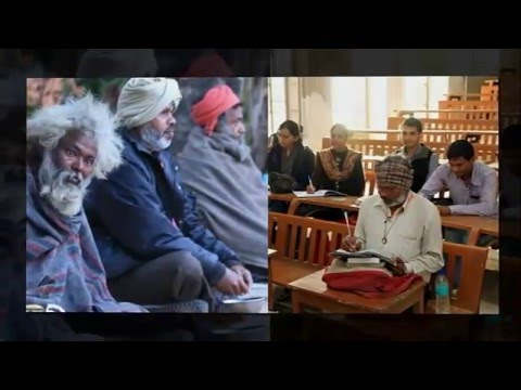 This 48 Year Old Beggar From Jaipur Is Studying Law To Get A Job