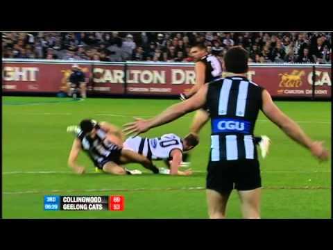Round 8 AFL - Collingwood V Geelong Match Summary