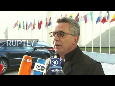 Luxembourg: EU ministers meet to discuss new asylum system