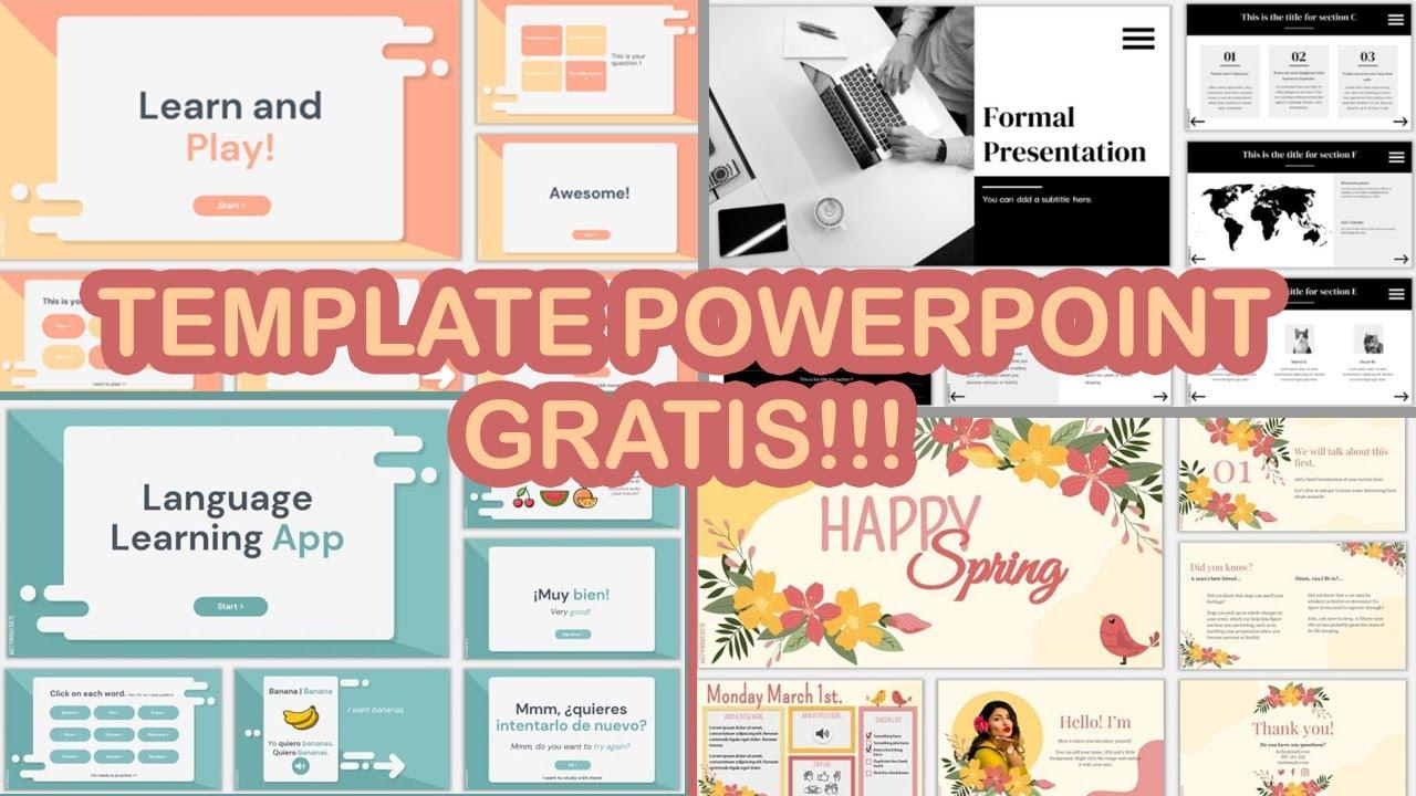 Template Powerpoint Aesthetic dan Keren GRATIS!!!