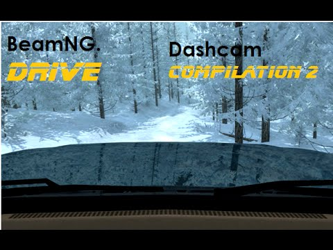 BeamNG. Drive - Dashcam Crashes Compilation 2 [Real voices]