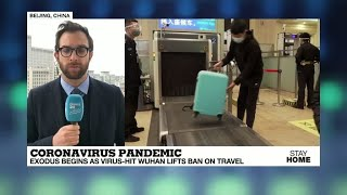 Covid-19: China's coronavirus epicenter Wuhan ends 76-day lockdown