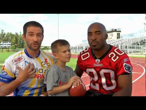 Ronde Barber and Kyle Bryant talk about Friedreich