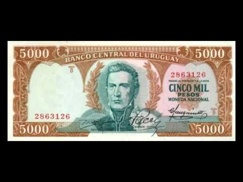 All Uruguayan Peso Banknotes - 1967 Issue