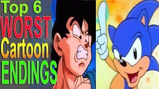 Top 6 Worst Cartoon Endings