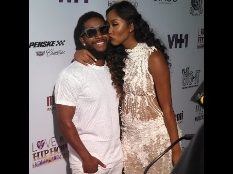 Omarion & Apryl Jones at LOVE AND HIP HOP HOLLYWOOD ...