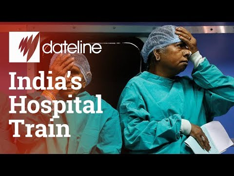 Jump on India's hospital train as it used the railway network to save lives