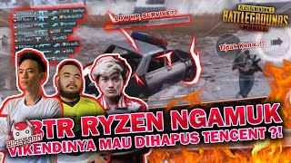 BTR RYZEN NGAMUK?! VIKENDI MAU DIHAPUS - PUBG MOBILE INDONESIA