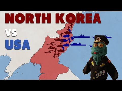 North Korea vs USA (2017)