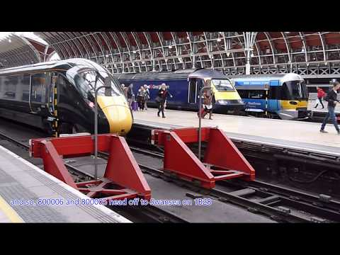 Trains at: Paddington, 20 October 2017