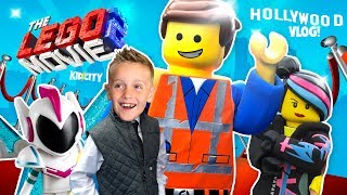 The Lego Movie 2 Hollywood Premiere & New VIDEOGAME Footage! KIDCITY