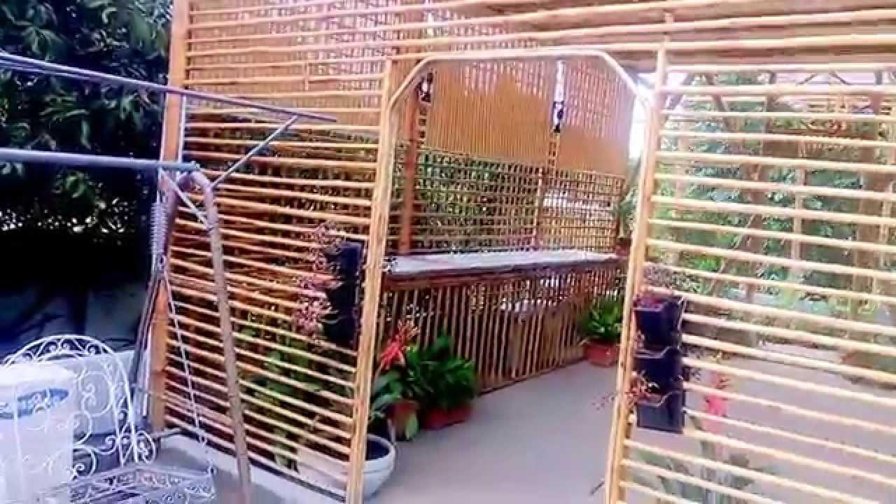 Bangalore Jayamahal Roof Garden Bamboo Structure Youtube