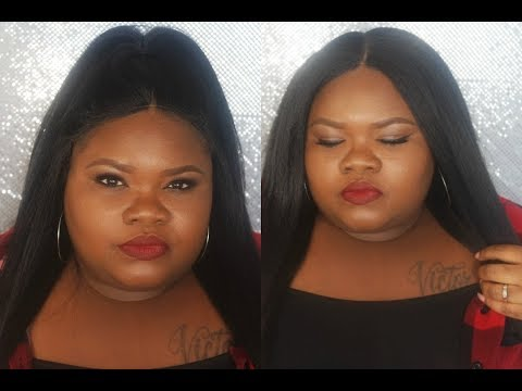 Outre Swiss X 4 Way Part Lace Front Wig Vixen Blow Out Straight