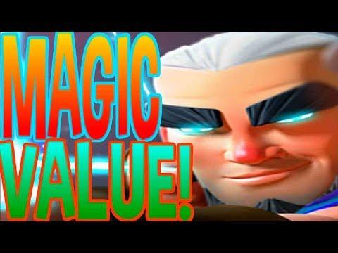 Clan Wars: MAGIC VALUE! -  Clash Royale