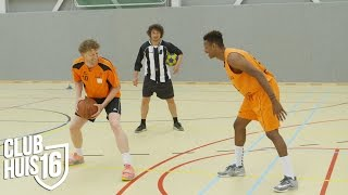 Sportwissel: Korfbal vs. Basketbal