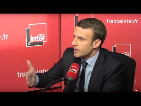 Matinale de France Inter |Emmanuel Macron