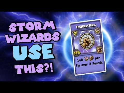 Wizard101 Champion (120) Fire PvP: The Most Powerful Storm Wizard.