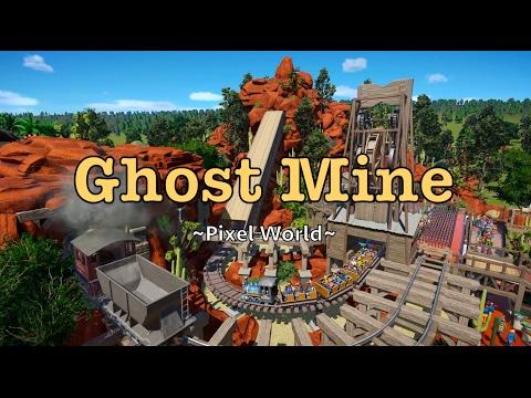 Ghost Mine - Planet Coaster [Indoor Coaster]