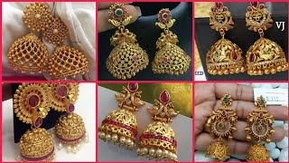 Very Beautiful Gold Jhumka designs 2019-2020/New Latest Gold Jhumka designs For Ladies