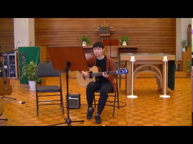 "Sora plays ""I Miss You"" in the TAGA Student Recital"