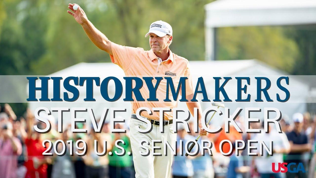 History Makers: Steve Stricker Sets U.S. Senior Open Scoring Record