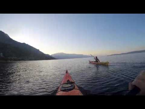 Kayaking Croatia, Bosnia, and montenegro in 11 days
