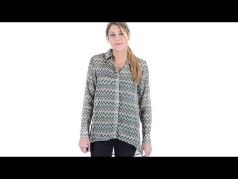 Threads 4 Thought Belinda Shirt - Button Down, Long Sleeve (For Women)