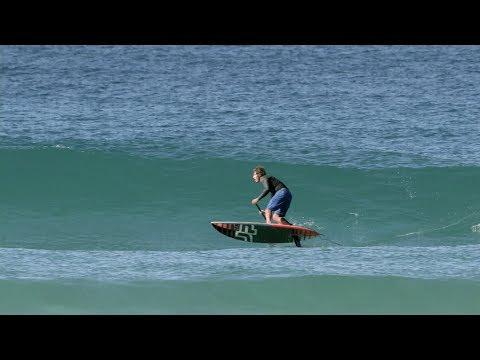 Foil SUP Surfing Sessions Australia: Keahi de Aboitiz