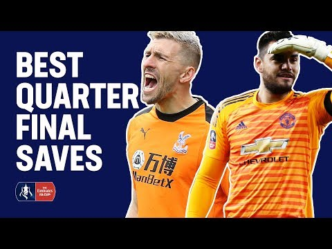 Nordfeldt Double Save Or Romero's Fingertip Stop? | Best Quarter-Final Saves | Emirates FA Cup 18/19