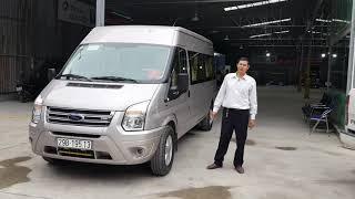 Dịch vụ chở xe hợp đồng 16 chỗ tại Quang Tuấn Auto