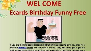 Birthdays Are Special Days - Free Birthday Funny Ecards