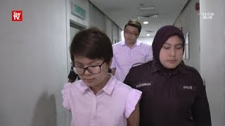 Couple behind bars for harassing enforcement officer
