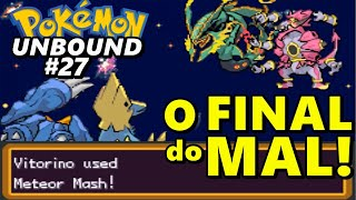 Pokémon Unbound (Detonado - Parte 27) - Mega Rayquaza, Hoopa e A Ultmate Weapon no Crystal Peak