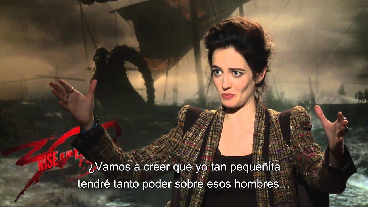 300 Full Movie >> 300: EL NACIMIENTO DE UN IMPERIO - Entrevista a Eva Green Sub. - Oficial de Warner Bros ...