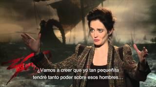 300: EL NACIMIENTO DE UN IMPERIO - Entrevista a Eva Green Sub. - Oficial de Warner Bros. Pictures